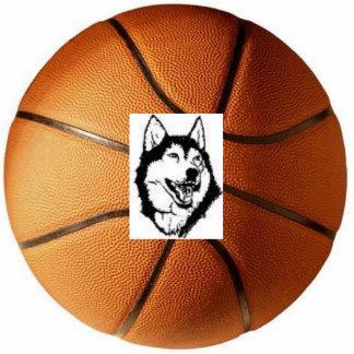 Husky Basketball Photo Sculptures