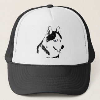 Husky Caps Sled Dog Caps  Husky / Wolf Hats Gifts