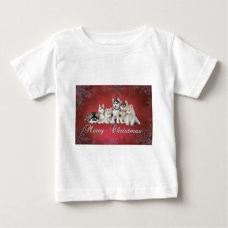 Husky christmas baby T-Shirt
