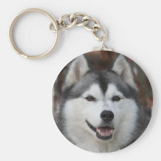 Husky Dog Keychain