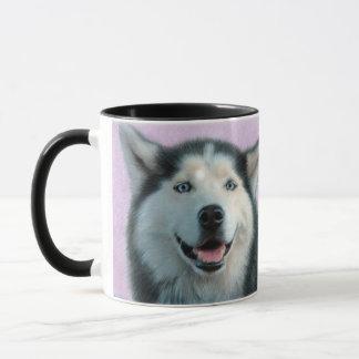 Husky Drawing Mug