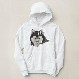 Husky Embroidered Hoody