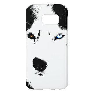 Husky Eyes Samsung 7 Cases Personalized Husky Case