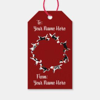 Husky Gift Tags Custom Christmas Dog Gift Tags