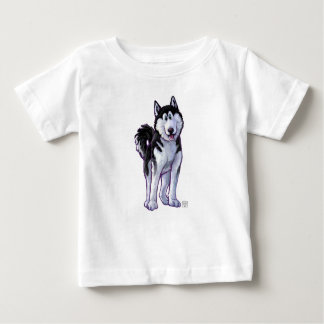 Husky Heads and Tails Baby T-Shirt
