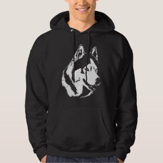 Husky Hoodie Wolf Art Hooded Sweatshirt Dog Shirts