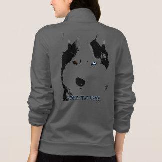 Husky Jacket Women's Sled Dog Personalized Jacket