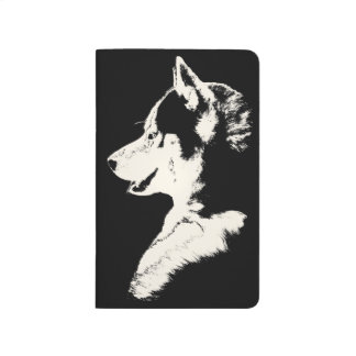 Husky Journal Custom Siberian Husky Notebook Gifts