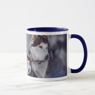 Husky - Night Spirit Mug