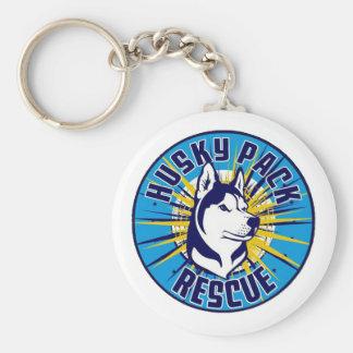 Husky Pack Rescue Logo Items Key Ring