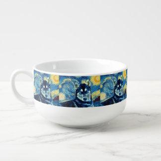 Husky Pepper Astral  Soup Mug