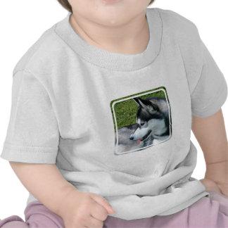 Husky Profile  Baby T-Shirt