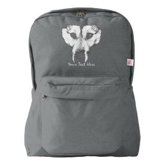 Husky Pup Backpack Wolf Dog Backpacks Custom