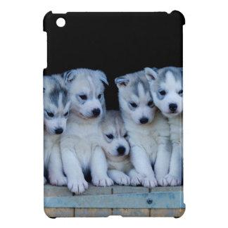 Husky puppies case for the iPad mini