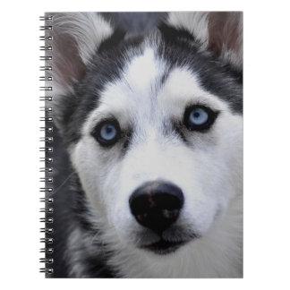 Husky Puppy Notebook