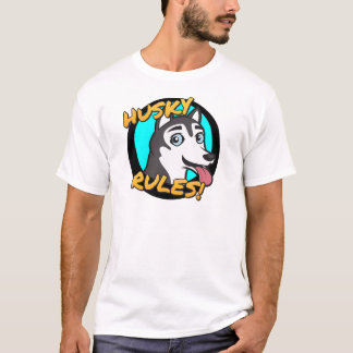 Husky Rules! T-Shirt