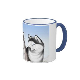 Husky Sled Dogs Coffee Mug
