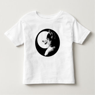 Husky T-Shirt Toddler Sled Dog Tee Shirts