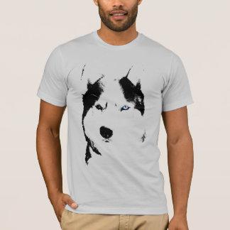 Husky T-shirt Wolf Husky Art Sled Dog Husky Shirts