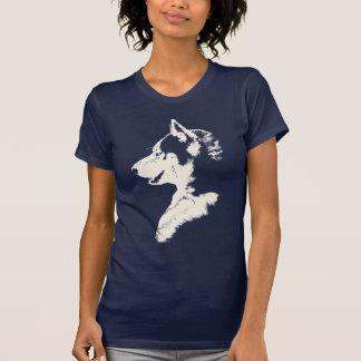 Husky Tank Top Women's Sled Dog Husky Shirts Gifts