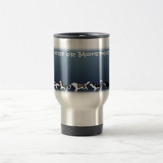 Husky Travel Mug Cup Custom Husky Sled Dog Mugs