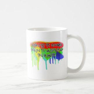 Hustle 2 basic white mug