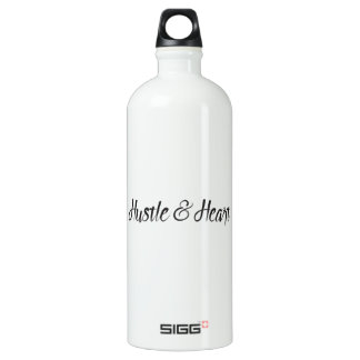 Hustle and Heart Typography SIGG Traveller 1.0L Water Bottle