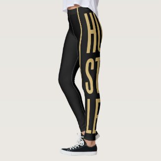 Hustle (Gold) Leggings