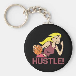 Hustle Key Ring