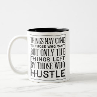 hustle Two-Tone coffee mug