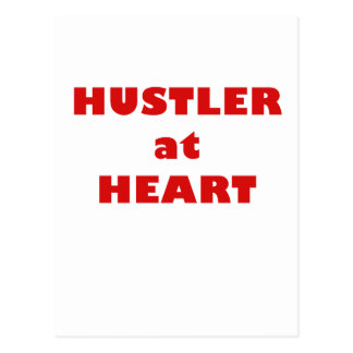 Hustler at Heart Postcard