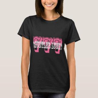 $HUSTLER LUCK$-PINK T-Shirt
