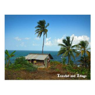 Hut On Trinidad's North Coast Postcard