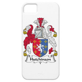 Hutchinson Family Crest iPhone 5 Cover