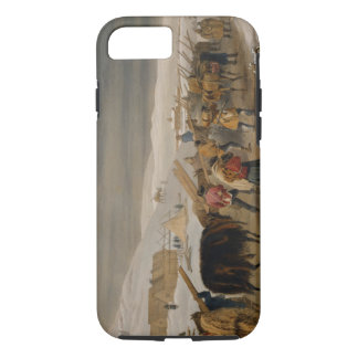 Huts and Warm Clothing for the Army, plate from 'T iPhone 7 Case