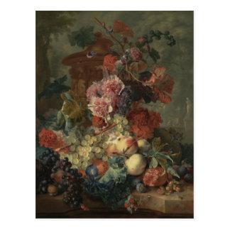 Huysum - Fruit Piece 1722.jpg Postcard