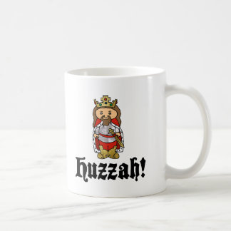 HUZZAH! King Arthur mug