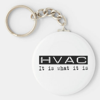 HVAC It Is Key Ring