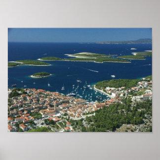 Hvar Pakleni otoci Hrvatska Poster