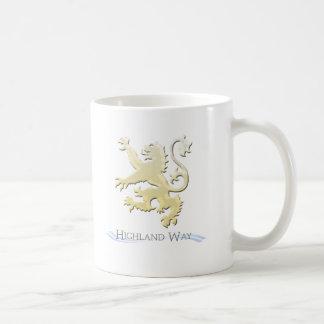 HW Lion Mug no background