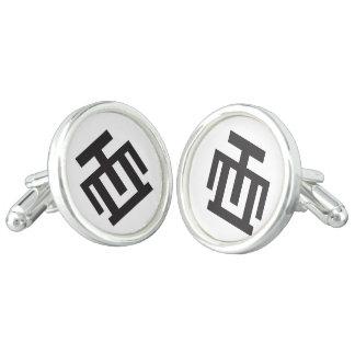 HWE MU DUA | Symbol of Examination Quality Control Cufflinks