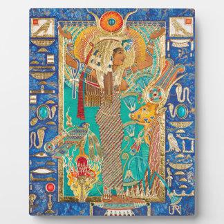 Hwt-Her (Hathor), Plaque