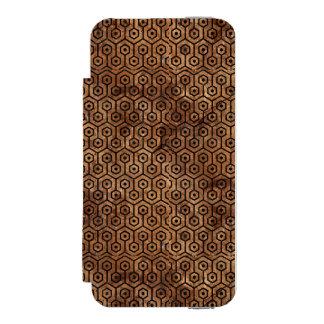 HXG1 BK-MRBL BR-STONE (R) INCIPIO WATSON™ iPhone 5 WALLET CASE