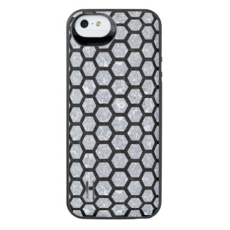 HXG2 BK-GY MARBLE (R) iPhone SE/5/5s BATTERY CASE