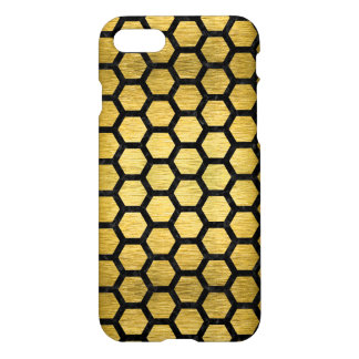 HXG2 BK MARBLE GOLD (R) iPhone 7 CASE