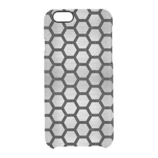 HXG2 BK MARBLE SILVER (R) CLEAR iPhone 6/6S CASE