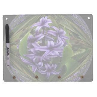 Hyacinth Candy Horizontal Dry Erase Board