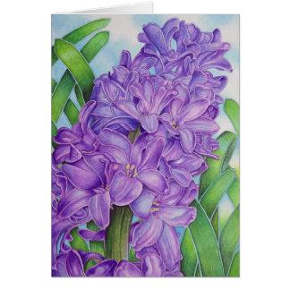 Hyacinth Card