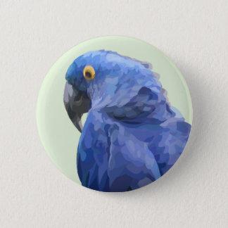 Hyacinth Macaw Button