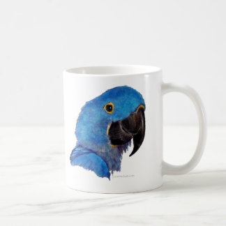 Hyacinth Macaw (dark design) Coffee Mug